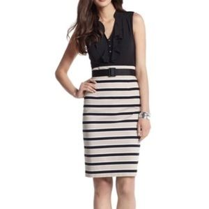 WHBM Sleeveless Sheath Dress